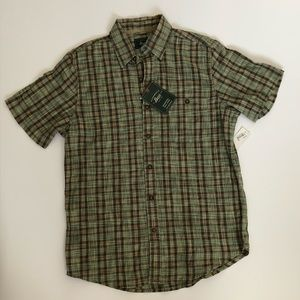 Bass Button Up Shirt Small NWT